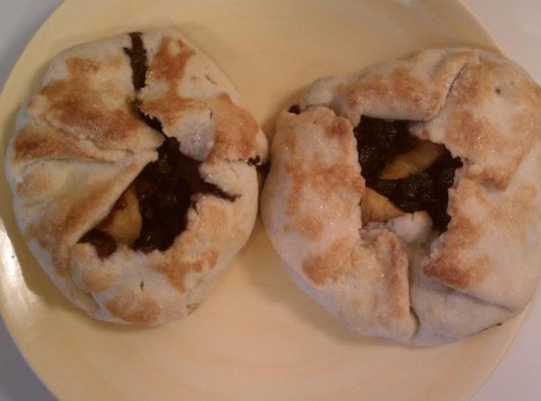 Peach And Blueberry Mini Crostatas Recipe