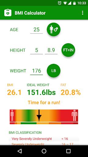 BMI Calculator screenshot 3
