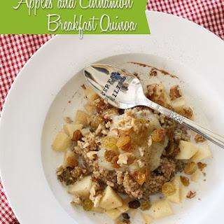 Cinnamon Apple Breakfast Recipes.