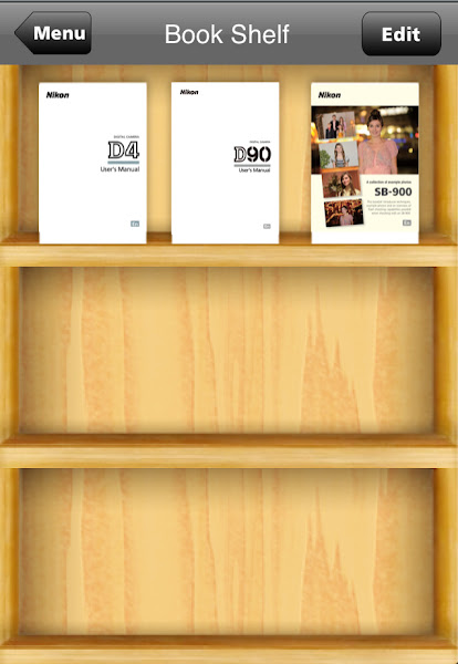 Photo: Book Shelf http://nikonbaby.com/blog/nikon-manual-viewer/