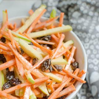 Carrot Apple Salad.