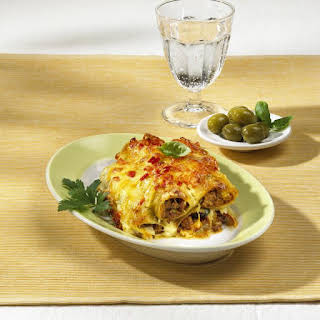 Catalan-style Cannelloni.