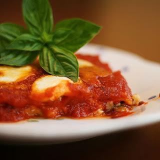 Zucchini & Bacon Three Cheese Lasagna