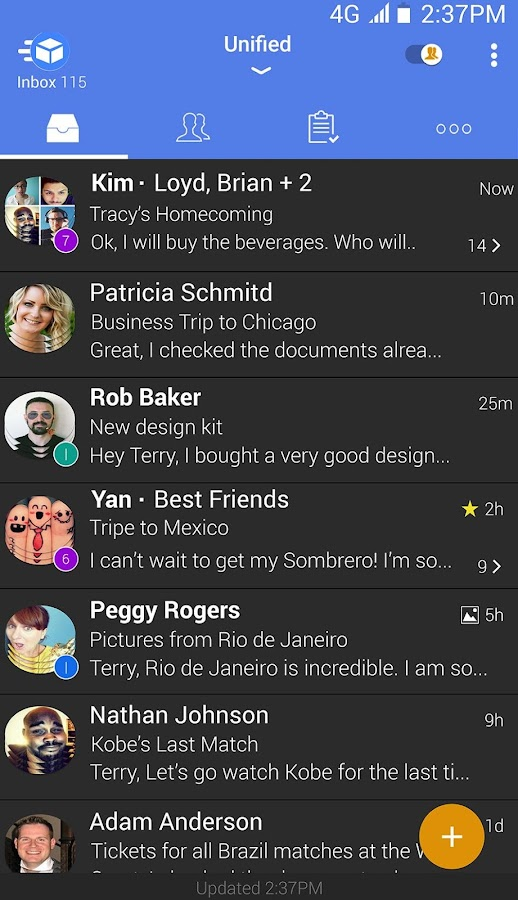 Email TypeApp - Mail & Calendar- screenshot
