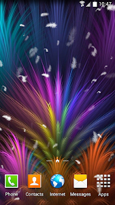 Feather Live Wallpaper screenshot 1