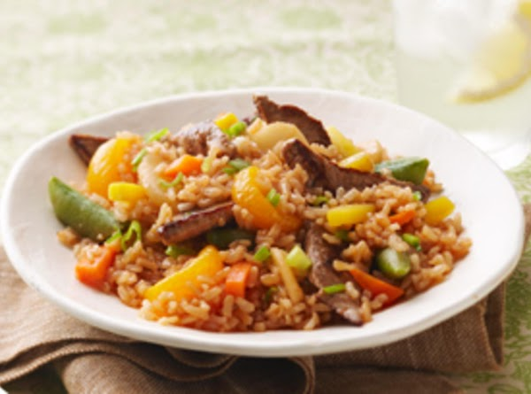 Beefy Fried Rice Recipe