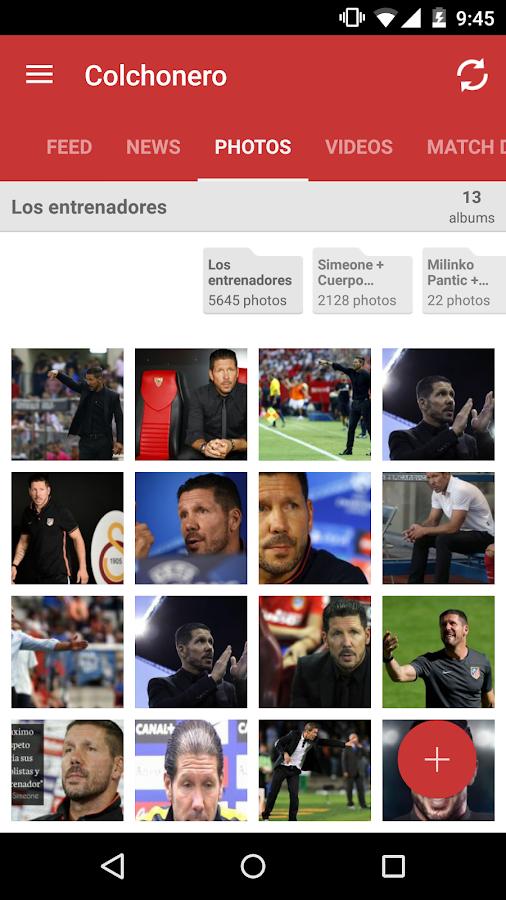 Colchonero At. de Madrid Fans- screenshot