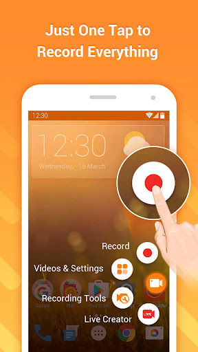 DU Recorder – Screen Recorder, Video Editor, Live screenshot 1