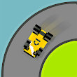 Squiggle Racer 8 Bit Race Game