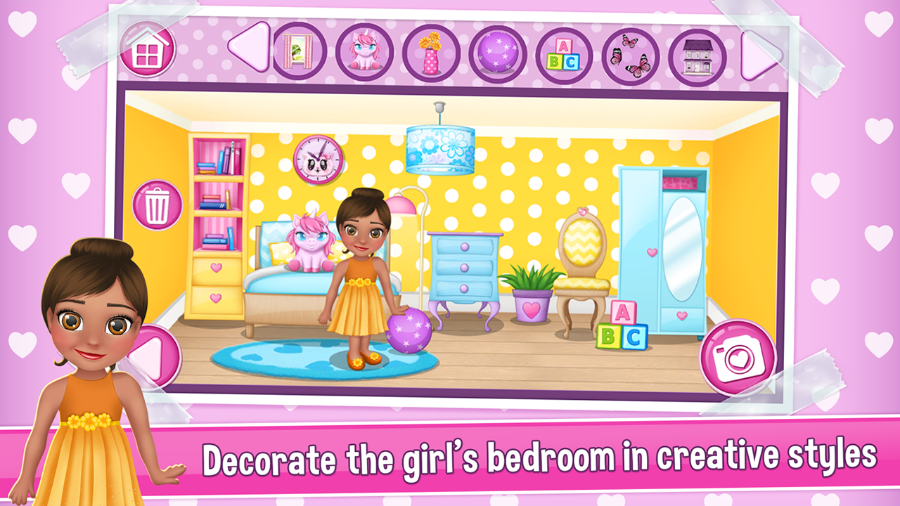 doll house decorating games screenshot - House Decorating Games