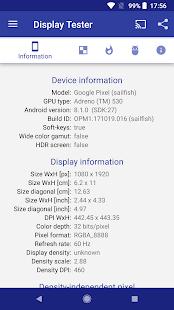Display Tester Screenshot