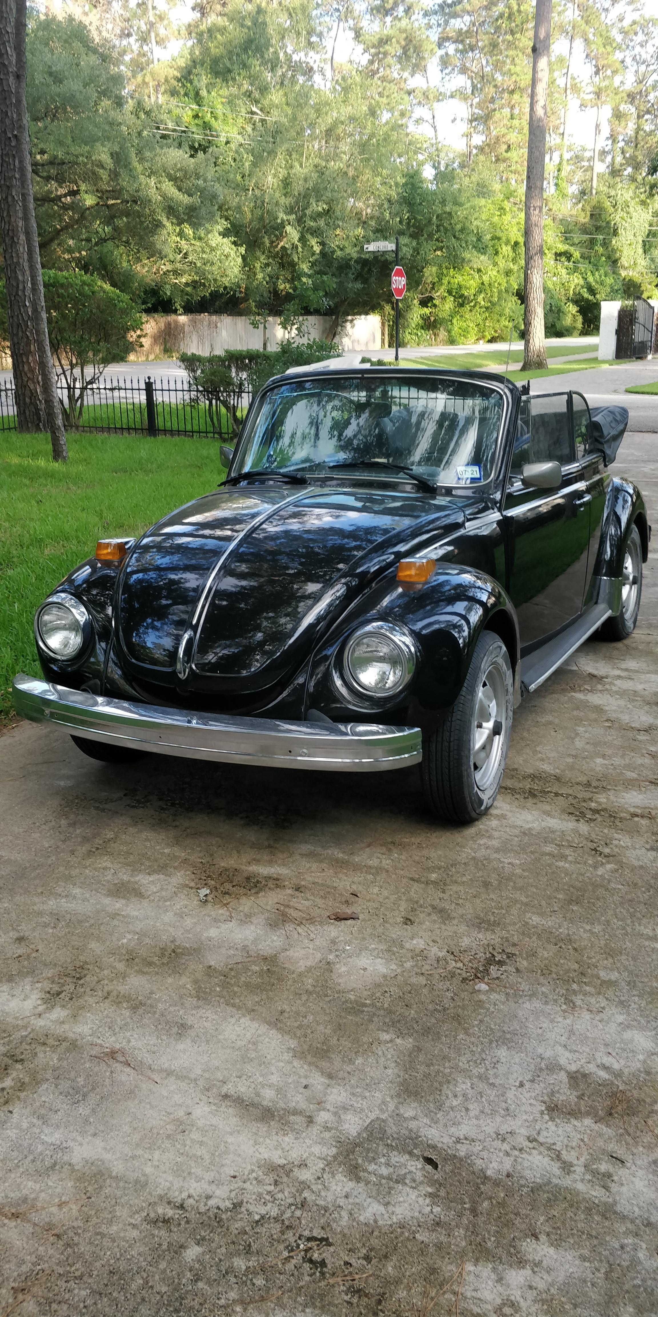 Volkswagen Super Beetle Convertible Hire Houston
