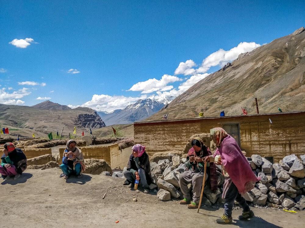 chicham+spitian+women+Spiti+valley+india+himalayas