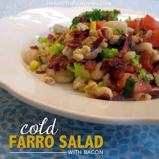 White Bean and Farro Salad.