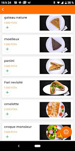 FIKASO - Livraison de Repas et de Courses for PC-Windows 7,8,10 and Mac apk screenshot 3