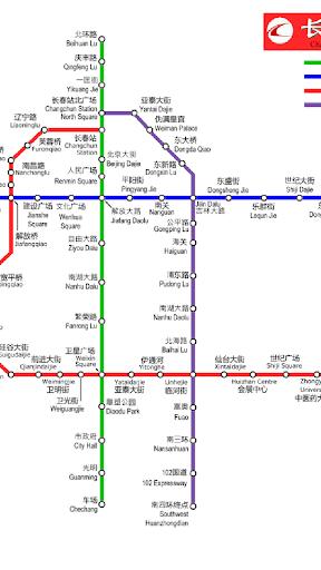 长春地铁路线图