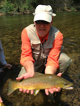 Photo: Gorgeous brown on a guide trip on the Mad
