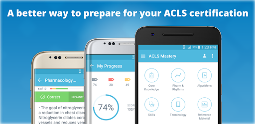 ★★★★★ Master your ACLS. Review 250+ practice questions, quizzes & tips anywhere