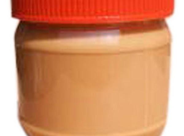 STEP 2: Beat 8 oz. cream cheese, 1 c. powdered sugar, 1/3 c. peanut...