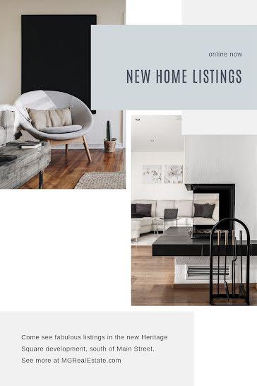 Fabulous New Listings - Pinterest Pin template