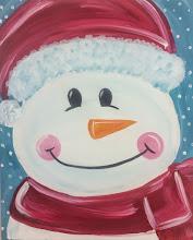 Photo: snowman