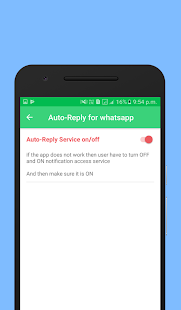 Auto-Reply for whatsapp- screenshot thumbnail