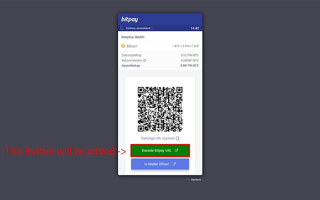 Bitpay Decoder