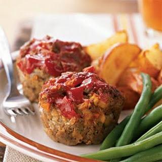 Diner Meat Loaf 'Muffins'