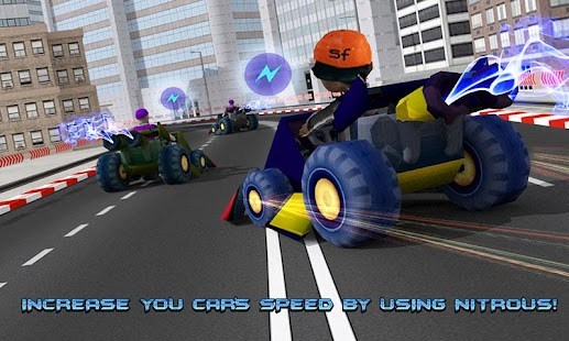 Kids Police Car Racing screenshot 2