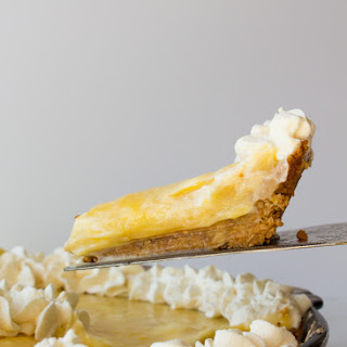 Granola Crusted Lemon Pie + a Giveaway!