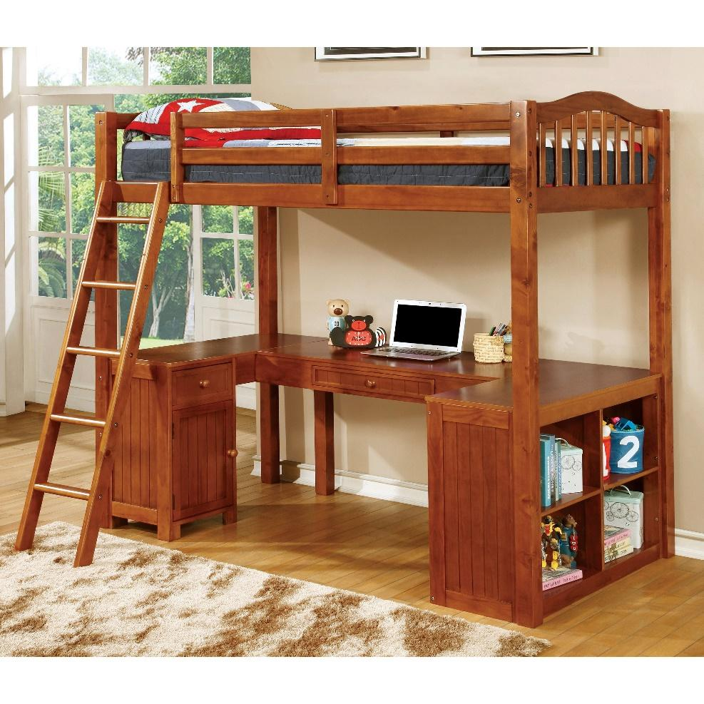 Image result for loft bed workstation