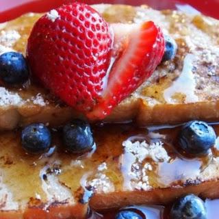 Vegan French Toast.