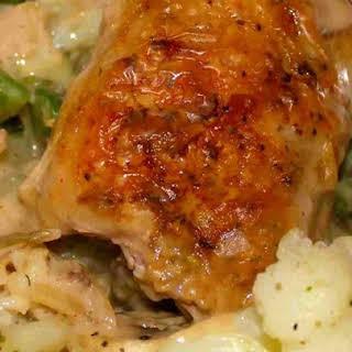 Chicken In Sour Cream.