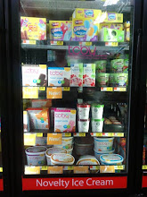 Photo: The TCBY frozen yogurt had about half of this case.