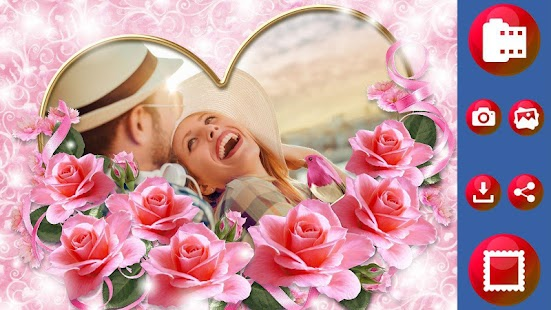Valentine Day Photo Frame - Love Picture Frames - Android Apps on ...