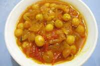 Dry White Peas Subji
