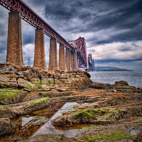 Forth Railway Bridge by Jon Marshall - Transportation Trains ( railway, bridge )