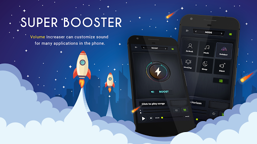 Equalizer - Volume Booster Player & Sound Effects 1.3.3 screenshots 1
