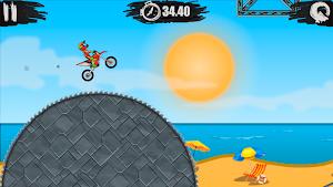 5 Moto X3M Bike Race Game App screenshot