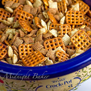 Slow Cooker Chex Snack Mix.