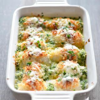 Spinach Ricotta Stuffed Dover Sole Recipe
