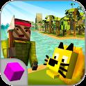 Cube Tropical Island Survival icon