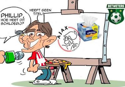 """Twitter maakt zich leuk in drama Ajax: """"De Boer pannenkoek"""""""