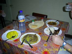 Photo: Mein erstes Essen: leckeres Schaf mit Kuskus.