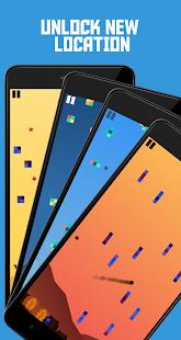 Pixel Rain: Dodge all the pixels Screenshot