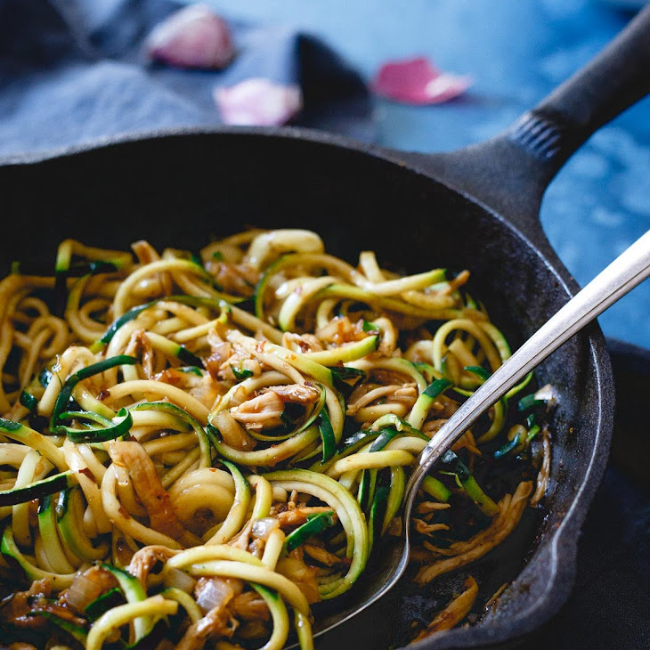 Chinese Chicken Zoodles Recipe