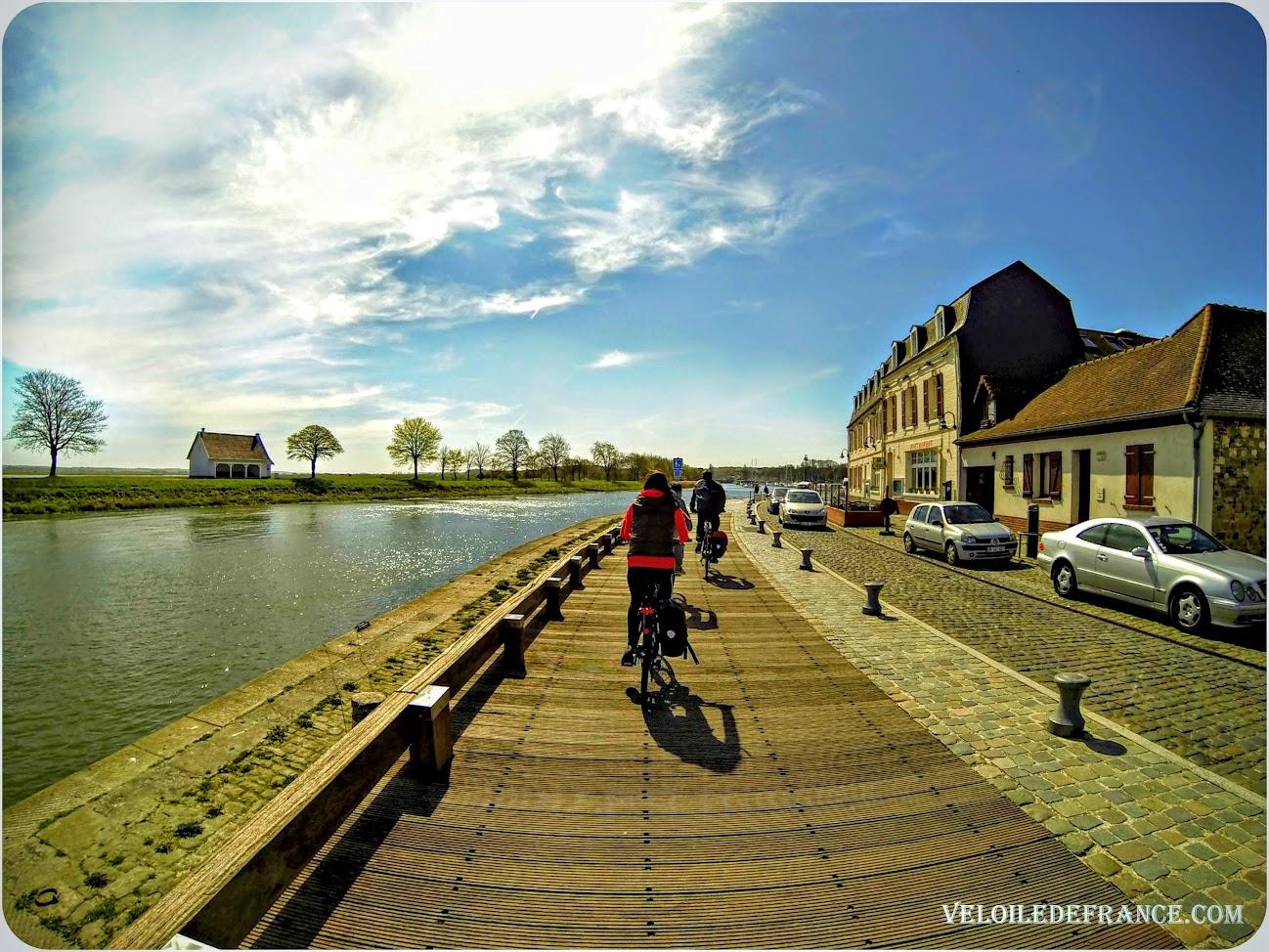 A vélo à St-Valery sur Somme