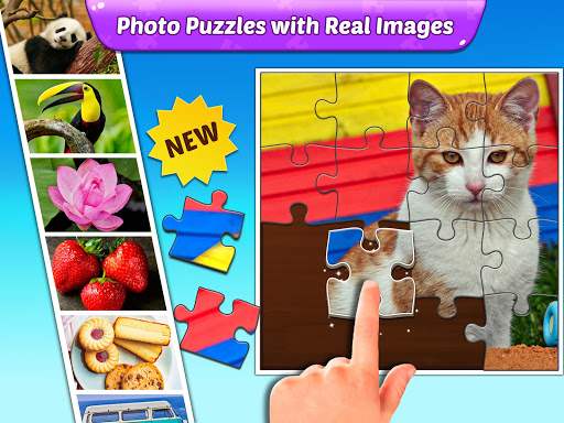 Puzzle Kids - Animals Shapes and Jigsaw Puzzles screenshots 10