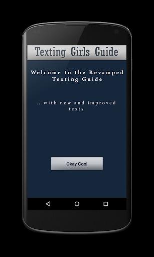Texting Girls Guide Pro screenshot 2
