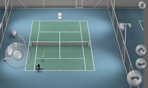 Stickman Tennis apkpoly screenshots 4